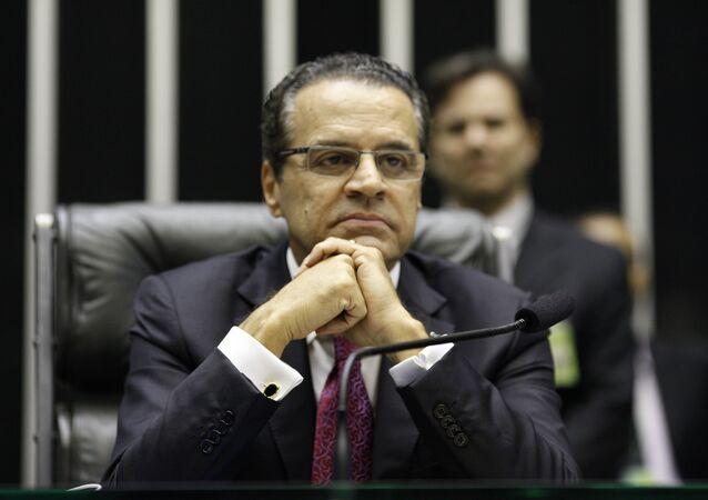 Henrique Eduardo Alves, exministro de Turismo de los gobiernos de Michel Temer y Dilma Rousseff