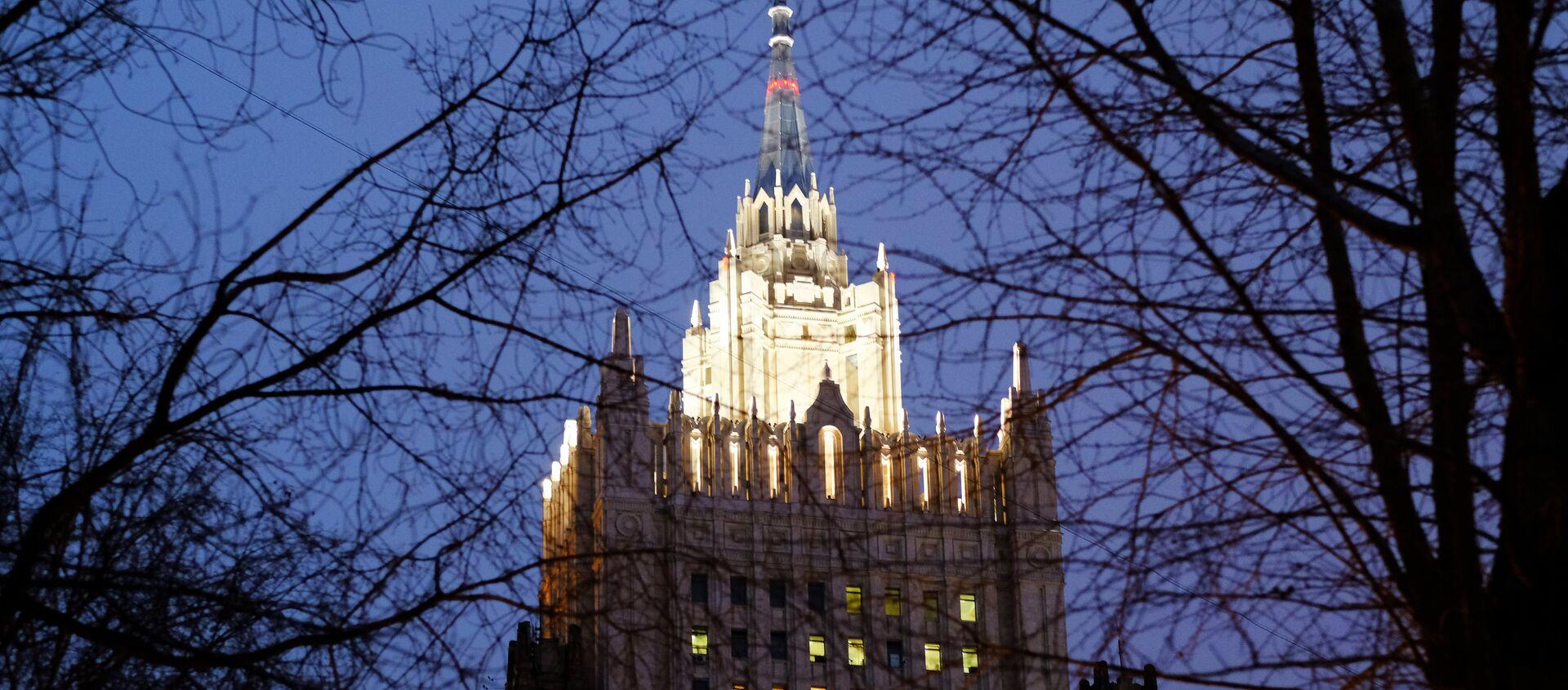 Ministerio de Asuntos Exteriores de Rusia - Sputnik Mundo, 1920, 28.08.2020