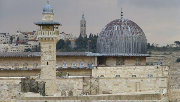 La mezquita de Al-Aqsa, Jerusalén - Sputnik Mundo