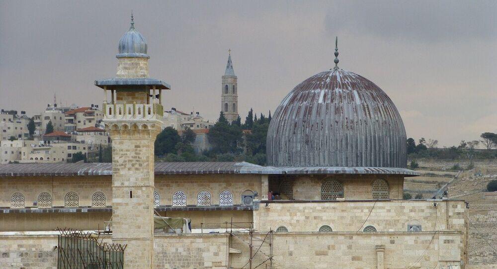 La mezquita de Al-Aqsa, Jerusalén