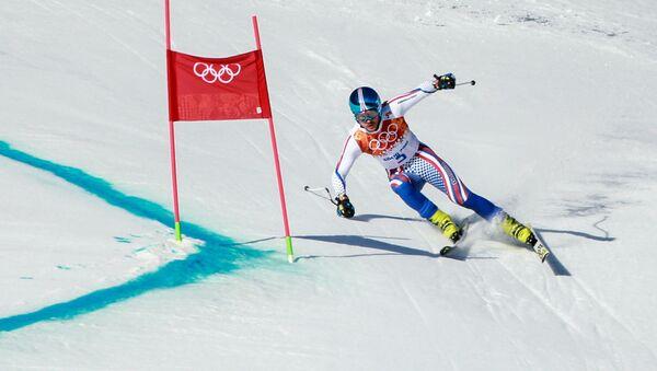 Esquiador ruso en los JJOO 2014 en Sochi - Sputnik Mundo