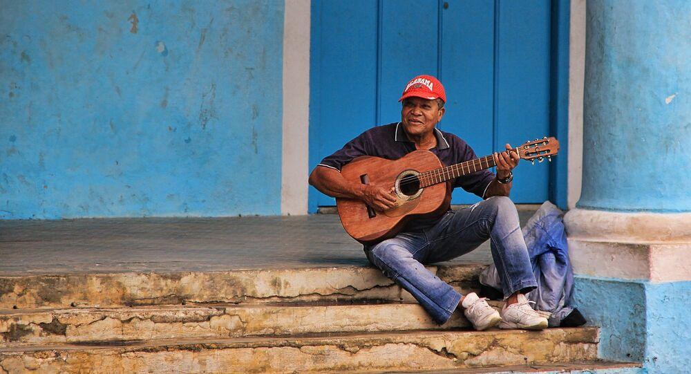 Un cantante cubano