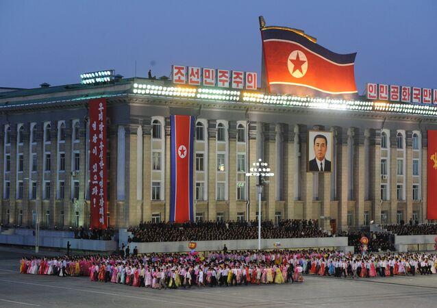 La ciudad de Pyongyang