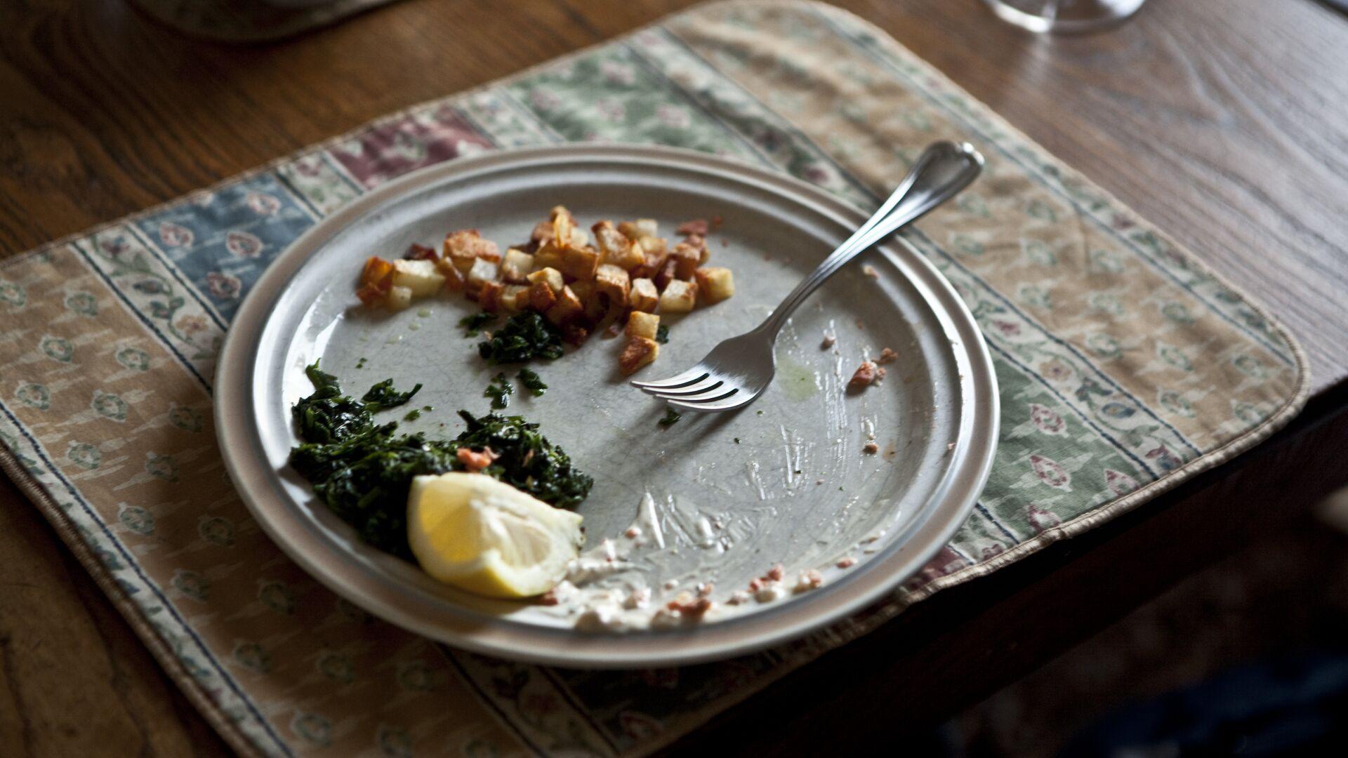Los restos de comida (imagen referencial) - Sputnik Mundo, 1920, 07.07.2021