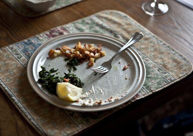 Los restos de comida (imagen referencial)