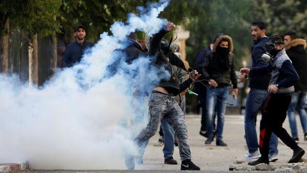 Protestas en Belén - Sputnik Mundo