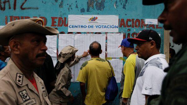 Votación en Venezuela - Sputnik Mundo