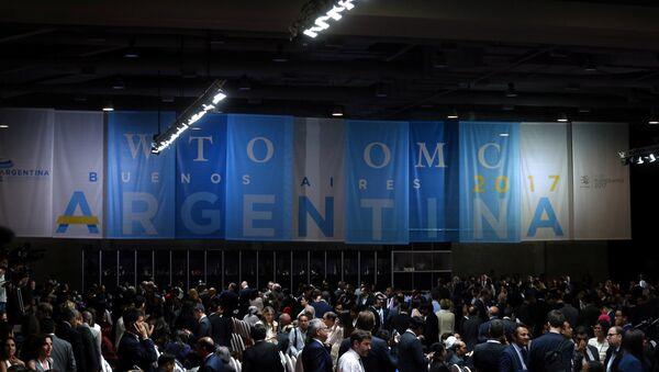 Inauguración de la XI Conferencia Ministerial de la OMC en Buenos Aires, Argentina - Sputnik Mundo