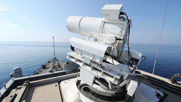 Operational demonstration of the Laser Weapon System (LaWS)  - Sputnik Mundo