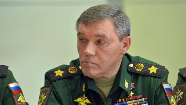 Valeri Guerásimov, jefe del Estado Mayor de Rusia (archivo) - Sputnik Mundo