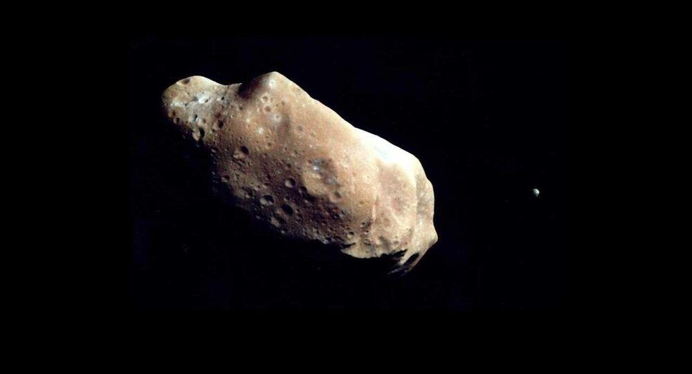 Un asteroide (imagen referencial)