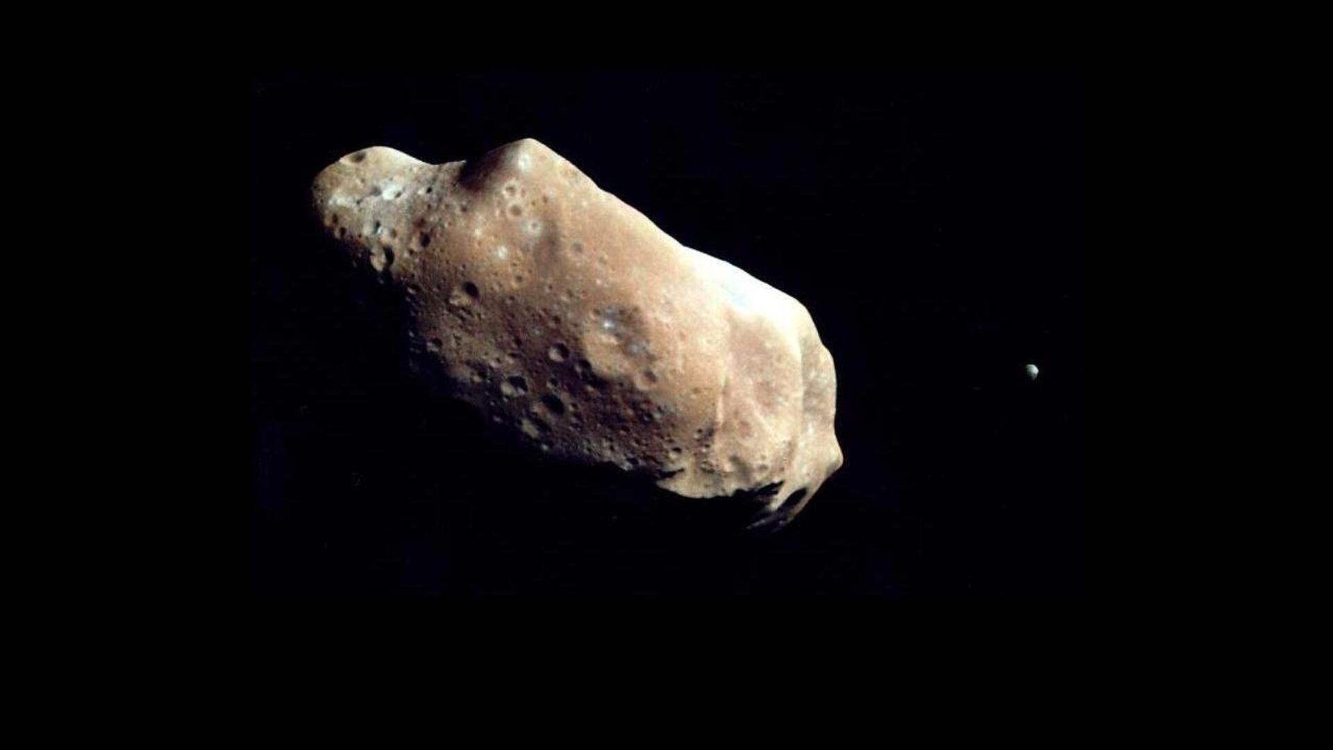Un asteroide (imagen referencial) - Sputnik Mundo, 1920, 20.06.2021