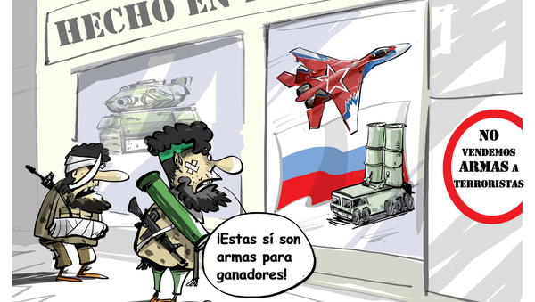 Solo aptas para vencedores: así son las armas 'made in Russia' - Sputnik Mundo