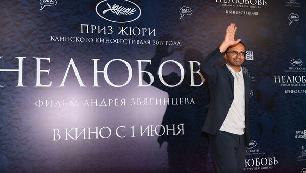 El director de cine ruso Andréi Zviáguintsev - Sputnik Mundo