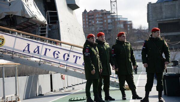 Policía militar de Rusia - Sputnik Mundo