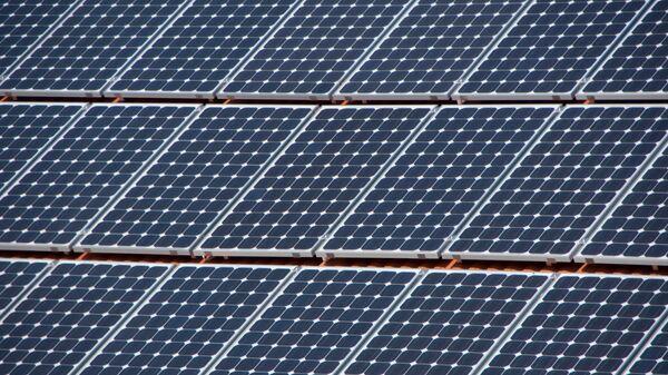 Paneles solares (imagen referencial) - Sputnik Mundo