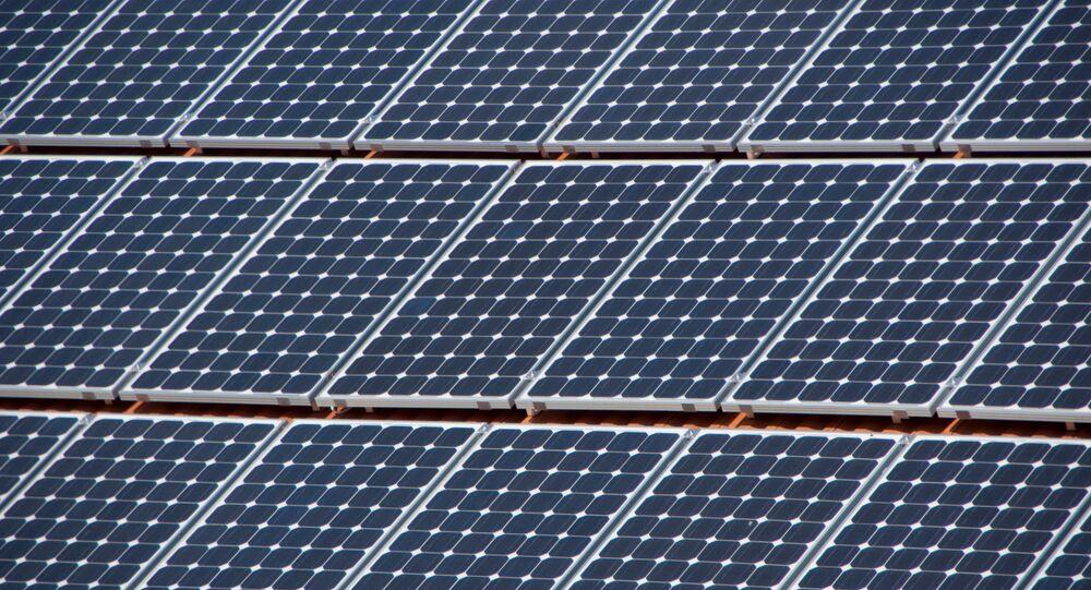 Paneles solares (imagen referencial)