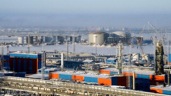 La planta rusa Yamal LNG - Sputnik Mundo