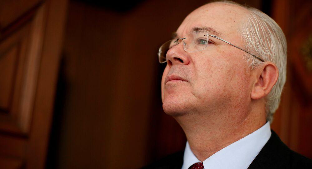 Rafael Ramírez, expresidente de la empresa petrolera PDVSA y exembajador de Venezuela ante la ONU