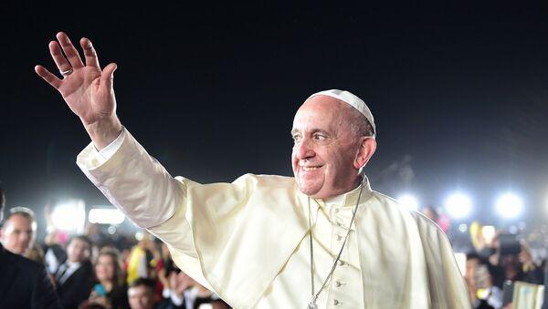 El papa Francisco en México - Sputnik Mundo