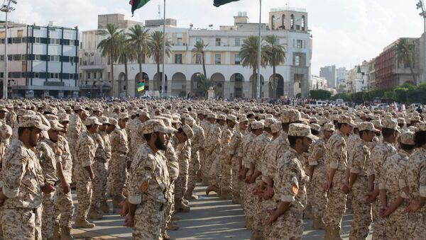 Ejército Nacional Libio  - Sputnik Mundo
