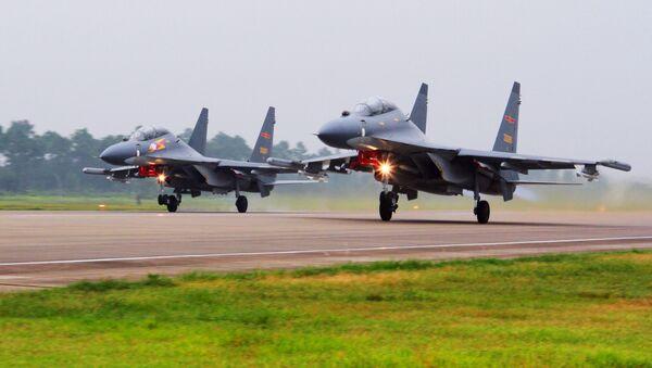 Los cazas chinos Su-30 - Sputnik Mundo