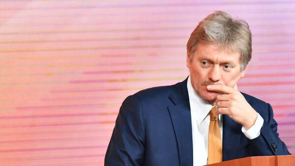 Dmitri Peskov, portavoz del presidente de Rusia, Vladímir Putin - Sputnik Mundo