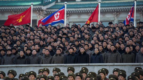 Militares norcoreanos (imagen referencial) - Sputnik Mundo