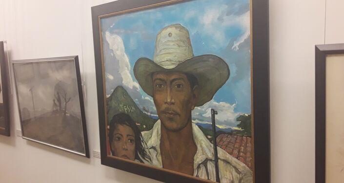 La obra 'Los nicaragüenses' de Iliá Glazunov