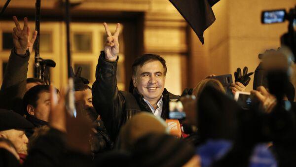 Mijaíl Saakashvili, expresidente de Georgia, en Kiev - Sputnik Mundo