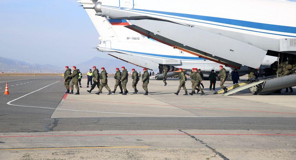 El regreso de militares rusos de Siria a Rusia