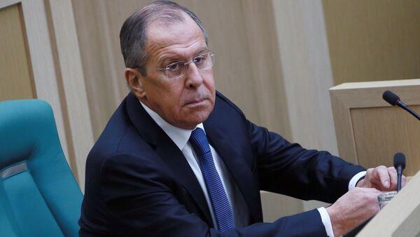 Serguéi Lavrov, el ministro de Asuntos Exteriores de Rusia - Sputnik Mundo