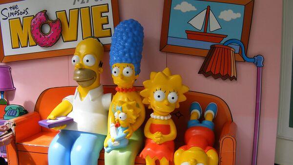 Los Simpson - Sputnik Mundo
