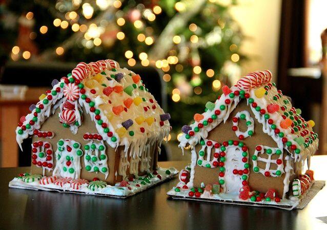 Las casas de pan de jengibre