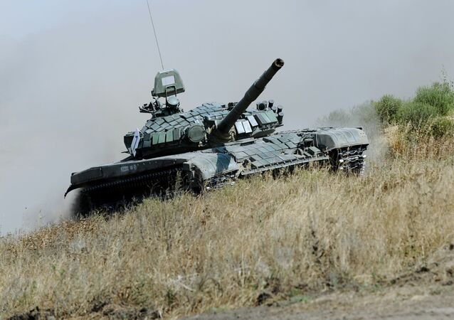 El tanque ruso T-72 B1