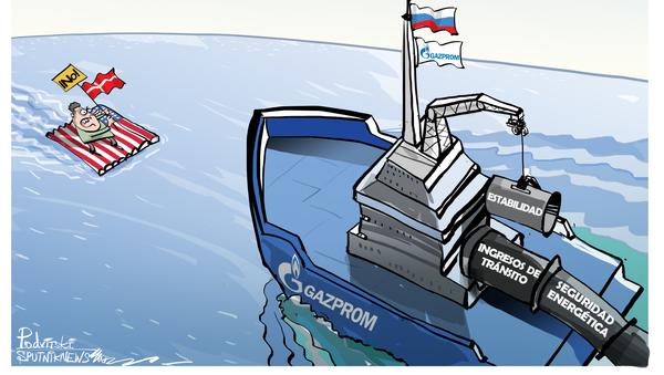 ¿Podrá EEUU frenar la construcción del Nord Stream 2? - Sputnik Mundo