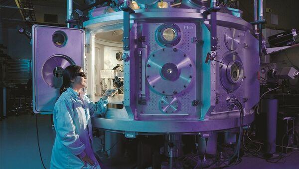 Laboratorio físico (imagen referencial) - Sputnik Mundo