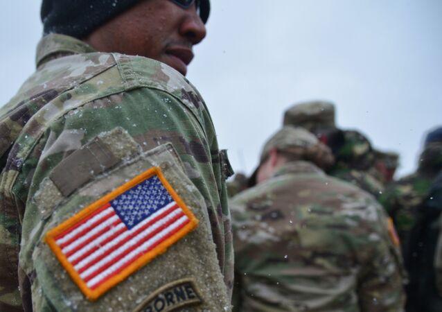 Un militar estadounidense durante unas maniobras conjuntas de EEUU y Rumanía (imagen referencial)