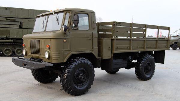 GAZ-66 - Sputnik Mundo