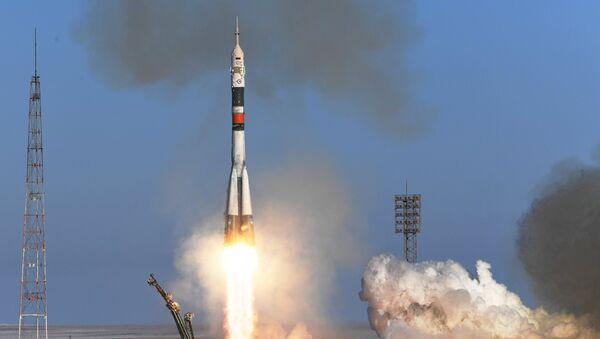 El lanzamiento de un cohete Soyuz (archivo) - Sputnik Mundo