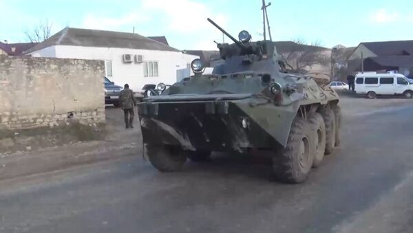 Las fuerzas del orden combaten contra los terroristas en Daguestán - Sputnik Mundo