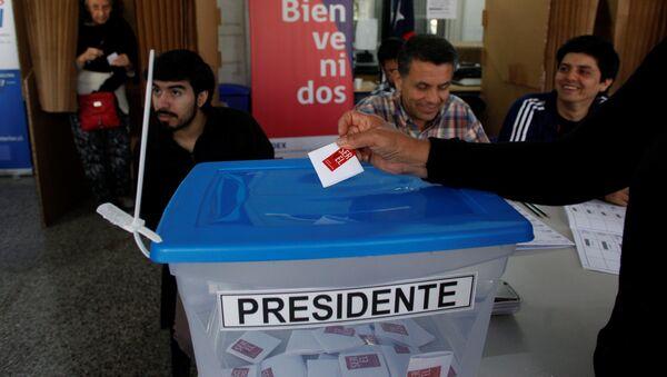 Elecciones presidenciales en Chile - Sputnik Mundo