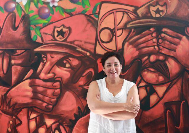 Beatriz Sánchez, excandidata a la Presidencia de Chile (archivo)