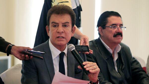 Salvador Nasralla, el excandidato presidencial hondureño por la Alianza de Oposición (archivo) - Sputnik Mundo