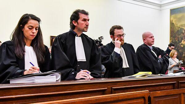 La audiencia sobre el aplazamiento del juicio de Salah Abdeslam en el Tribunal de Bruselas - Sputnik Mundo