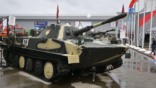 PT-76 soviético (imagen referencial) - Sputnik Mundo