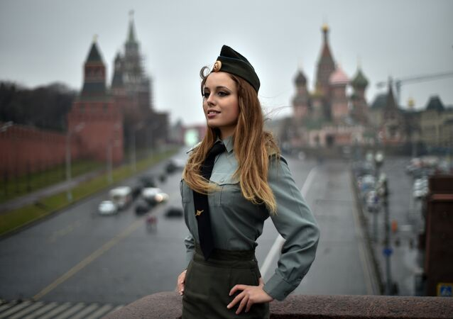 Un mujer rusa en Moscú (archivo)