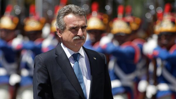Agustín Rossi, jefe del bloque de izquierda en la Cámara de Diputados de Argentina - Sputnik Mundo