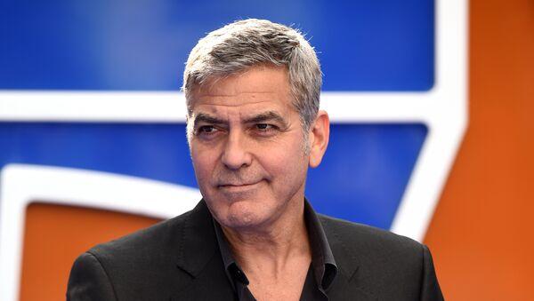 George Clooney, actor estadounidense - Sputnik Mundo