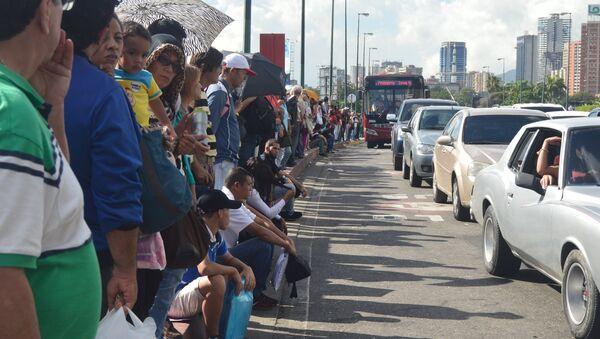 Consecuencias del apagón en Caracas, Venezuela - Sputnik Mundo